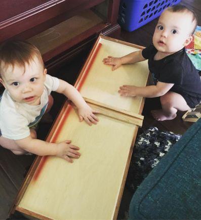 Twin trouble!